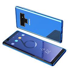 Etui Ultra Fine TPU Souple Transparente T07 pour Samsung Galaxy Note 9 Bleu