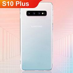 Etui Ultra Fine TPU Souple Transparente T07 pour Samsung Galaxy S10 Plus Clair