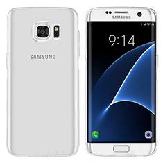 Etui Ultra Fine TPU Souple Transparente T07 pour Samsung Galaxy S7 Edge G935F Clair