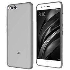 Etui Ultra Fine TPU Souple Transparente T07 pour Xiaomi Mi 6 Gris