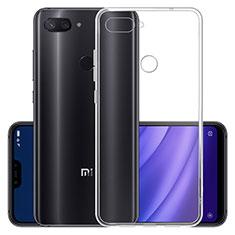 Etui Ultra Fine TPU Souple Transparente T07 pour Xiaomi Mi 8 Lite Clair