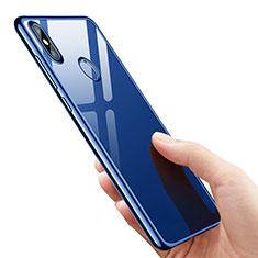 Etui Ultra Fine TPU Souple Transparente T07 pour Xiaomi Mi 8 SE Bleu