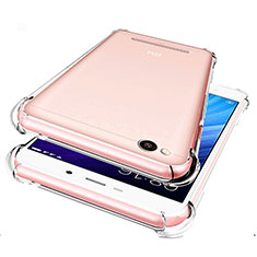 Etui Ultra Fine TPU Souple Transparente T07 pour Xiaomi Redmi 4A Clair