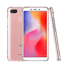 Etui Ultra Fine TPU Souple Transparente T07 pour Xiaomi Redmi 6 Clair