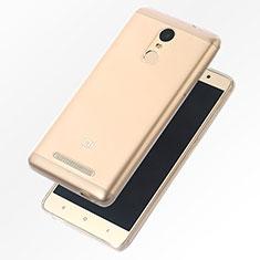 Etui Ultra Fine TPU Souple Transparente T07 pour Xiaomi Redmi Note 4 Standard Edition Clair