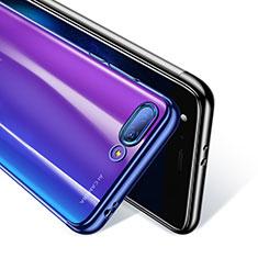 Etui Ultra Fine TPU Souple Transparente T08 pour Huawei Honor 10 Bleu