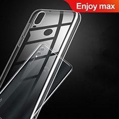Etui Ultra Fine TPU Souple Transparente T09 pour Huawei Enjoy Max Clair