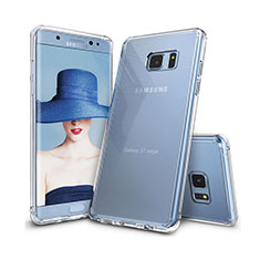 Etui Ultra Fine TPU Souple Transparente T09 pour Samsung Galaxy S7 Edge G935F Clair