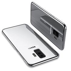 Etui Ultra Fine TPU Souple Transparente T12 pour Samsung Galaxy S9 Plus Argent