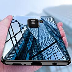 Etui Ultra Fine TPU Souple Transparente T18 pour Samsung Galaxy S9 Plus Noir