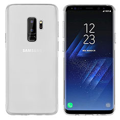 Etui Ultra Fine TPU Souple Transparente T20 pour Samsung Galaxy S9 Plus Blanc