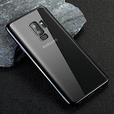 Etui Ultra Fine TPU Souple Transparente T21 pour Samsung Galaxy S9 Plus Bleu
