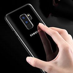 Etui Ultra Fine TPU Souple Transparente T23 pour Samsung Galaxy S9 Plus Blanc