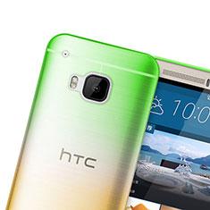 Etui Ultra Fine Transparente Souple Degrade pour HTC One M9 Vert