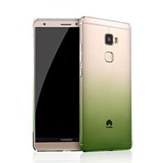 Etui Ultra Fine Transparente Souple Degrade pour Huawei Mate S Vert