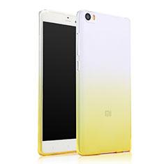 Etui Ultra Fine Transparente Souple Degrade pour Xiaomi Mi Note Jaune