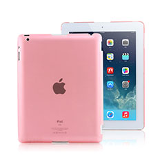 Etui Ultra Slim Plastique Rigide Transparente pour Apple iPad 4 Rose