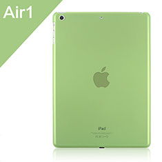 Etui Ultra Slim Plastique Rigide Transparente pour Apple iPad Air Vert