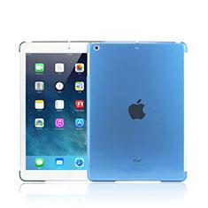 Etui Ultra Slim Plastique Rigide Transparente pour Apple iPad Mini 2 Bleu Ciel