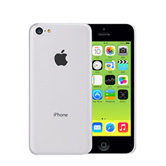 Etui Ultra Slim Plastique Rigide Transparente pour Apple iPhone 5C Blanc