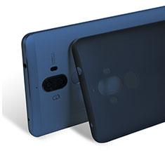 Etui Ultra Slim Plastique Rigide Transparente pour Huawei Mate 9 Bleu