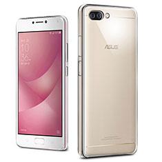 Etui Ultra Slim Silicone Souple Transparente pour Asus Zenfone 4 Max ZC554KL Clair