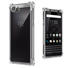 Etui Ultra Slim Silicone Souple Transparente pour Blackberry KEYone Clair