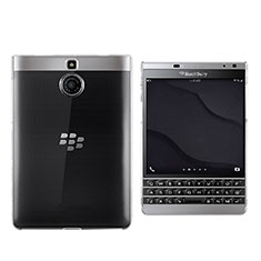 Etui Ultra Slim Silicone Souple Transparente pour Blackberry Passport Silver Edition Clair