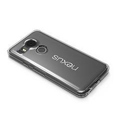 Etui Ultra Slim Silicone Souple Transparente pour Google Nexus 5X Clair