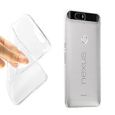 Etui Ultra Slim Silicone Souple Transparente pour Google Nexus 6P Clair