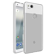 Etui Ultra Slim Silicone Souple Transparente pour Google Pixel 2 Clair