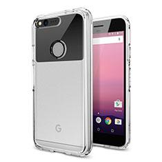 Etui Ultra Slim Silicone Souple Transparente pour Google Pixel Clair