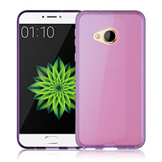 Etui Ultra Slim Silicone Souple Transparente pour HTC U Play Rose