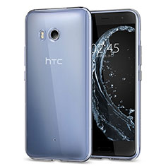 Etui Ultra Slim Silicone Souple Transparente pour HTC U11 Clair