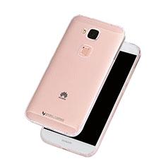 Etui Ultra Slim Silicone Souple Transparente pour Huawei G7 Plus Clair