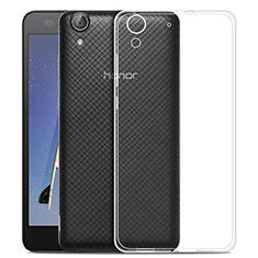 Etui Ultra Slim Silicone Souple Transparente pour Huawei Honor 5A Clair
