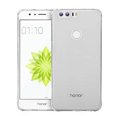 Etui Ultra Slim Silicone Souple Transparente pour Huawei Honor 8 Clair