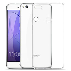 Etui Ultra Slim Silicone Souple Transparente pour Huawei Honor 8 Lite Clair