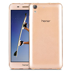 Etui Ultra Slim Silicone Souple Transparente pour Huawei Honor Holly 3 Or