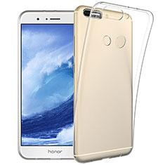 Etui Ultra Slim Silicone Souple Transparente pour Huawei Honor V9 Clair