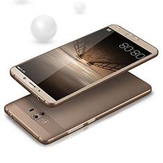 Etui Ultra Slim Silicone Souple Transparente pour Huawei Mate 10 Gris