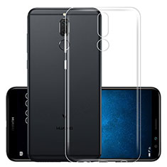 Etui Ultra Slim Silicone Souple Transparente pour Huawei Mate 10 Lite Clair