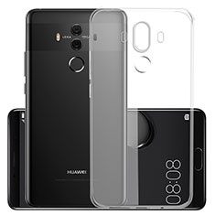 Etui Ultra Slim Silicone Souple Transparente pour Huawei Mate 10 Pro Clair