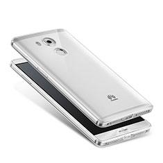 Etui Ultra Slim Silicone Souple Transparente pour Huawei Mate 8 Clair