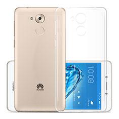 Etui Ultra Slim Silicone Souple Transparente pour Huawei Nova Smart Clair