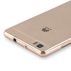 Etui Ultra Slim Silicone Souple Transparente pour Huawei P8 Lite Clair