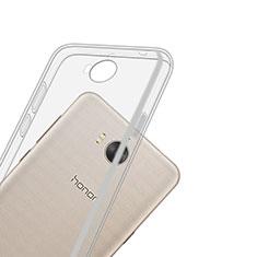Etui Ultra Slim Silicone Souple Transparente pour Huawei Y5 III Y5 3 Clair