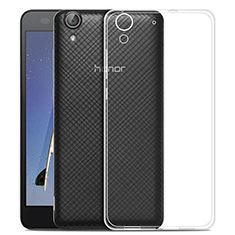 Etui Ultra Slim Silicone Souple Transparente pour Huawei Y6 II 5.5 Clair