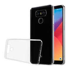 Etui Ultra Slim Silicone Souple Transparente pour LG G6 Clair