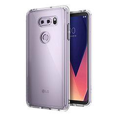Etui Ultra Slim Silicone Souple Transparente pour LG V30 Clair